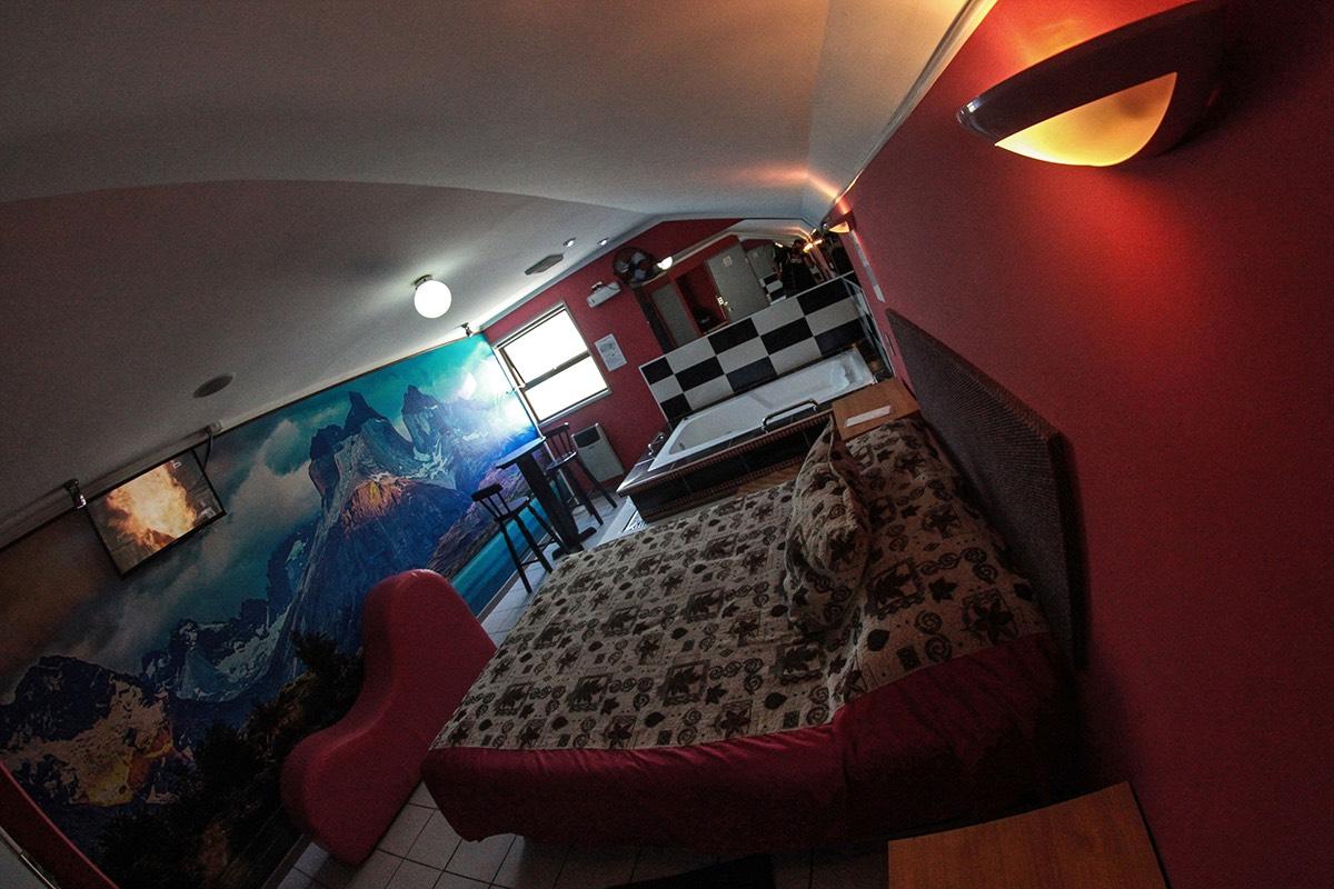 Habitación Jacuzzi VIP en Motel Campanella : MotelNow