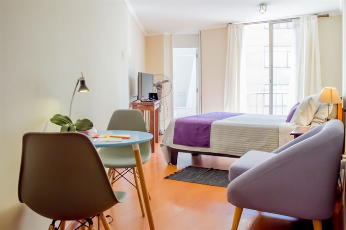 Habitación Departamento 1 dormitorio en UH Apart Hotel : MotelNow