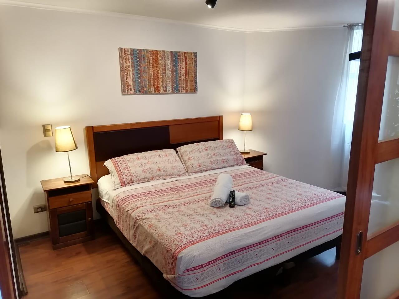 Habitación Departamento 1 dormitorio en Apartamentos Chilenos : MotelNow