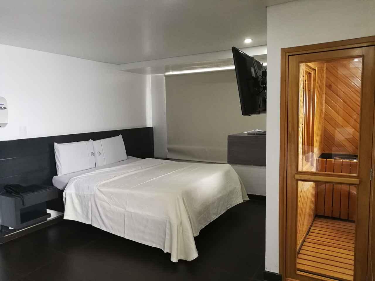 Habitación Sauna en Calipso : MotelNow