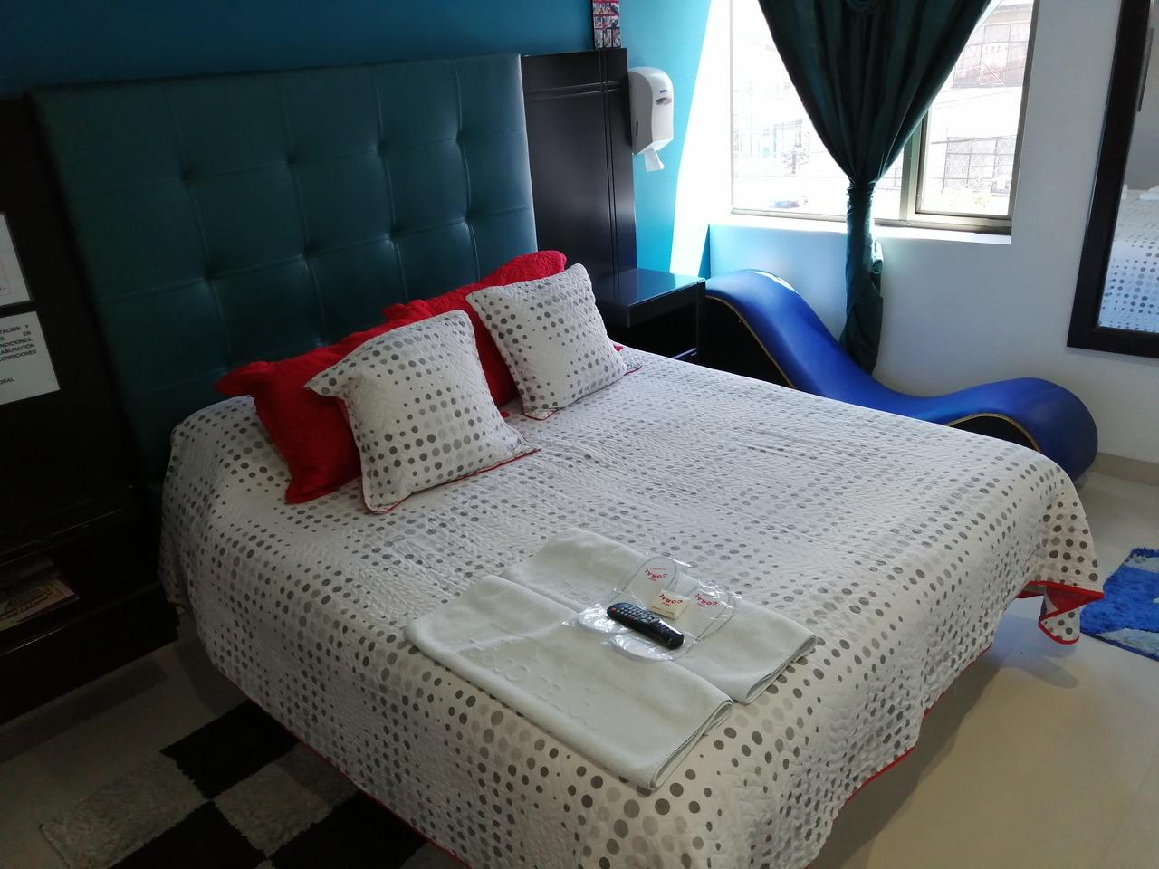 Habitación Suite Sauna y Jacuzzi en Coral : MotelNow