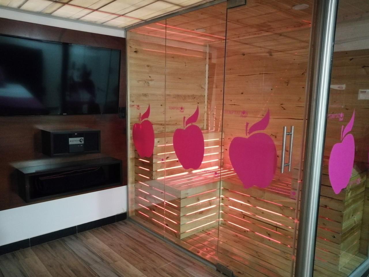 Habitación Suite Sauna en Temptation Motel : MotelNow