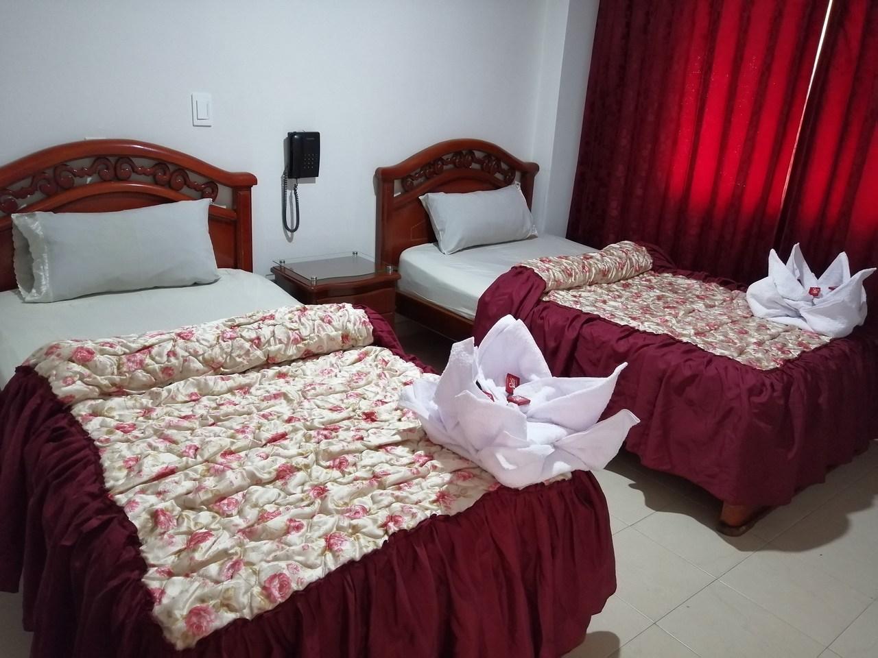 Habitación Twin en Hotel Los Balcones : MotelNow
