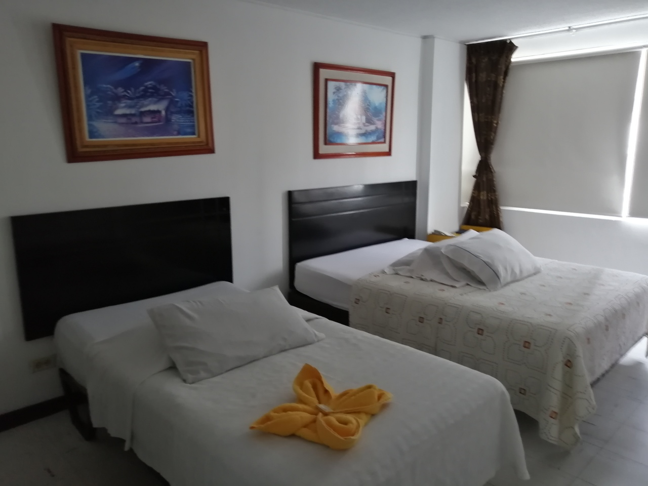 Habitación Acomodación Doble en Hotel Teusaca : MotelNow