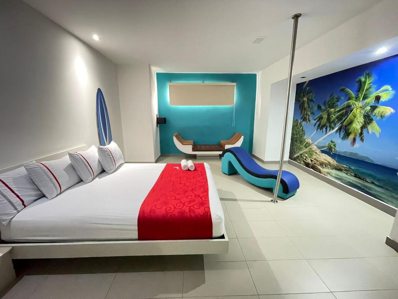 Habitación Sencilla en Romantic Suites  : MotelNow